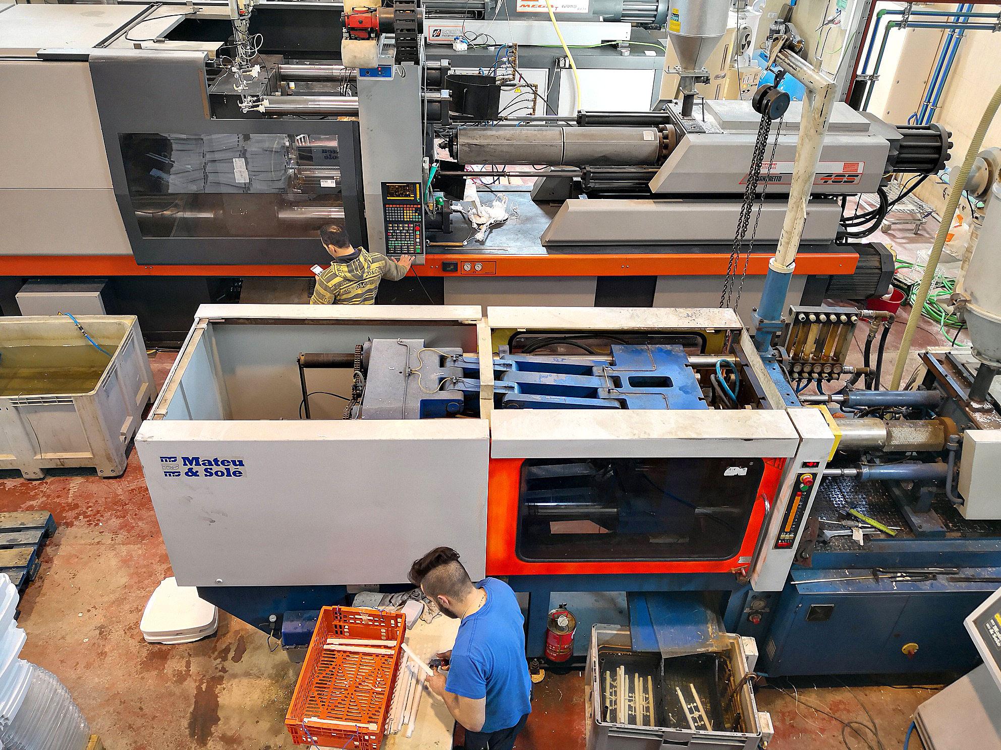 Fábrica de Inyección de Plásticos