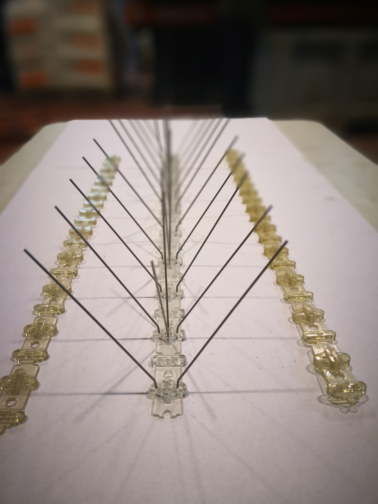 Pieza fabricada por inyección de plásticos
